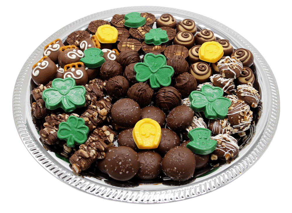 Celebrate any holiday with customizable gourmet chocolate from Homemade Chocolates by Michelle - St. Patrick's Day